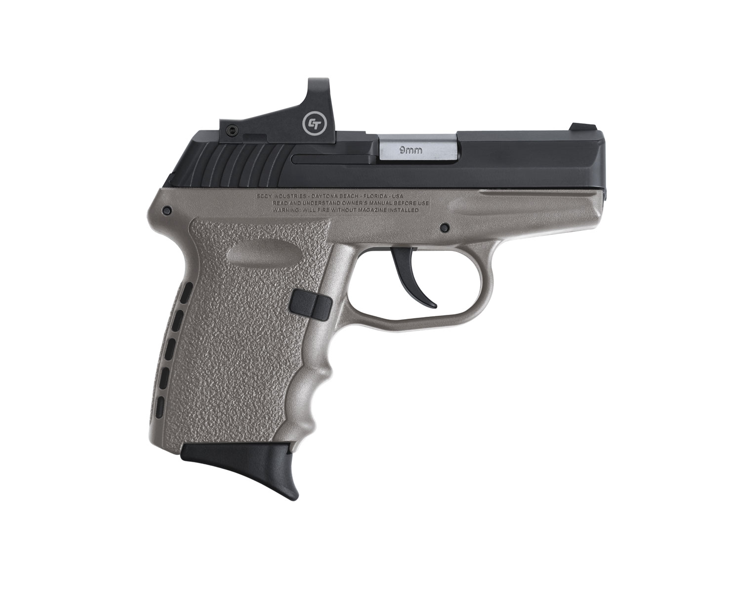 SCCY Industries CPX2CBSGRDE CPX-2 RD 9mm Luger 3.10