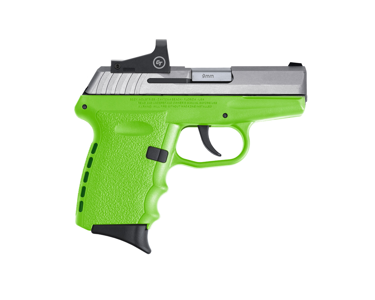 SCCY Industries CPX-2TTLGRD CPX-2 RD 9mm Luger 3.10