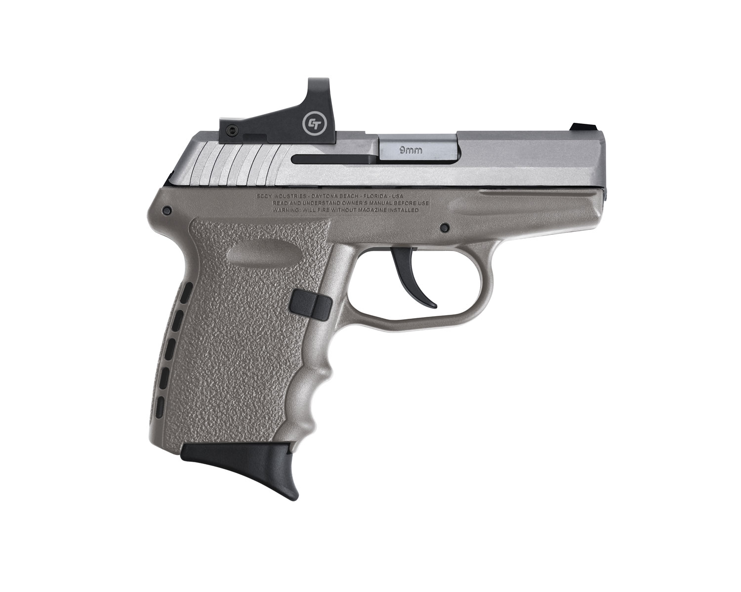 SCCY Industries CPX-2TTSGRD CPX-2 RD 9mm Luger 3.10