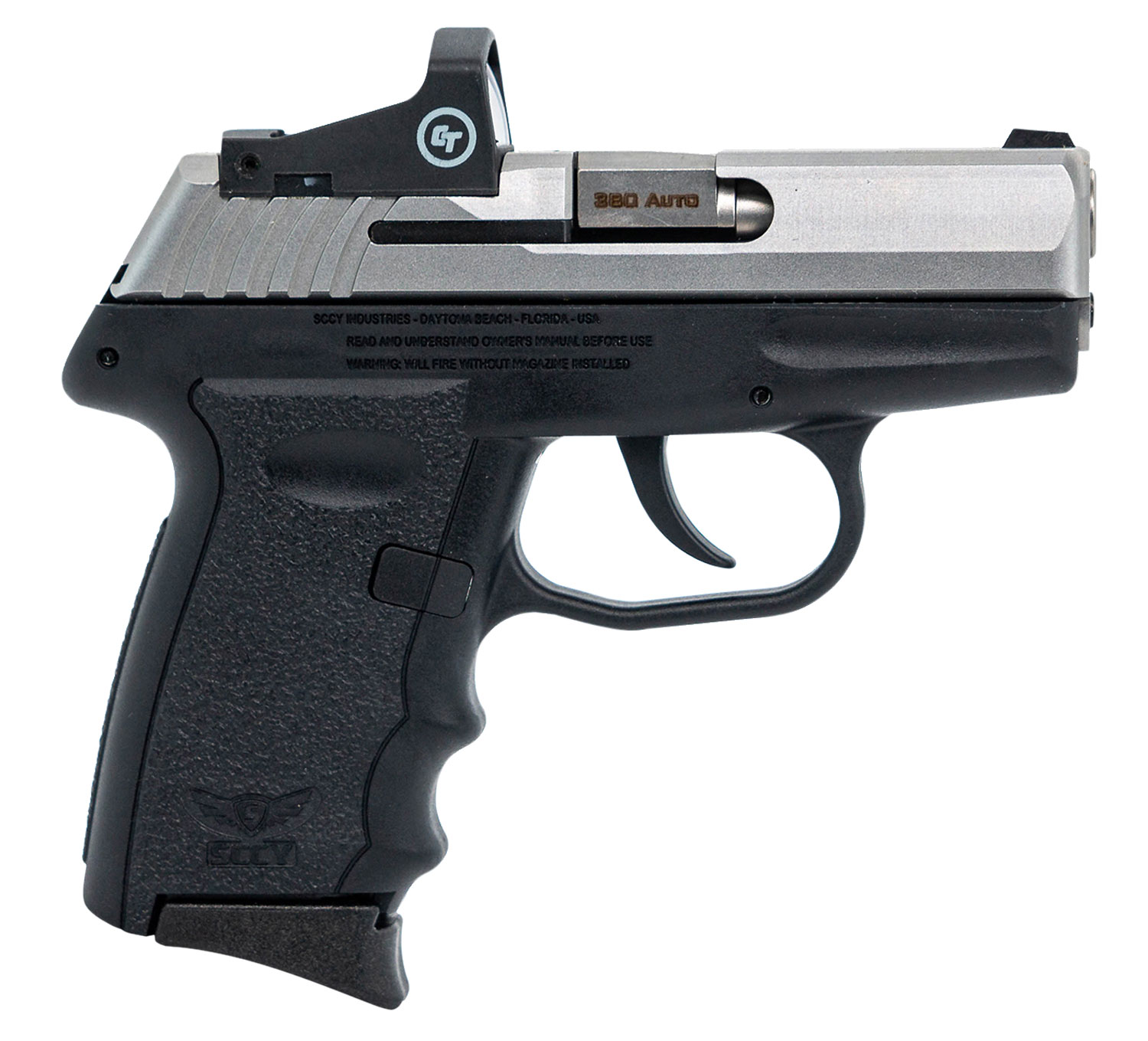 SCCY Industries CPX-3TTRD CPX-3 RD DAO 380 ACP 3.10