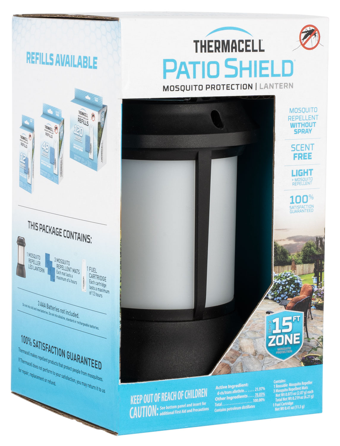 THER PSLL2 PATIO SHIELD REPELLER LANTERN