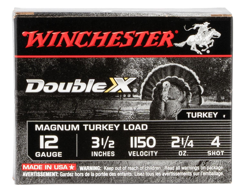 Winchester Ammo XXT12L4 Double X Magnum 12 Gauge 3.50