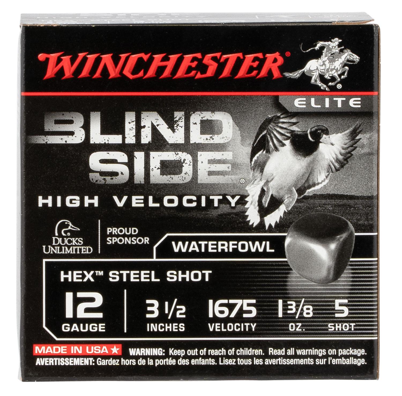Winchester Ammo SBS12LHV5 Blindside High Velocity 12 Gauge 3.50