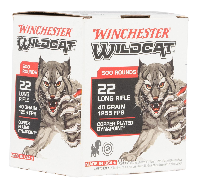 WIN WW22LRB   22LR WILDCAT BULK  500/10
