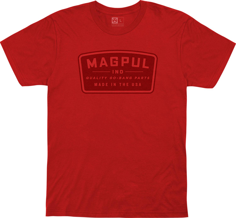MAGPUL GO BANG PARTS TSHRT RED LRG