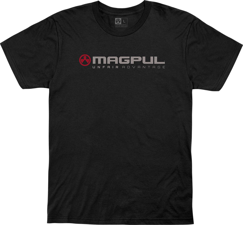 MAGPUL MAG1114-001-L  UNFAIR ADVTG   SHIRT LG  BLK