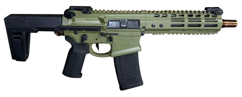 Noveske 02000743 Gen 4 Ghetto Blaster 5.56x45mm NATO 7.94