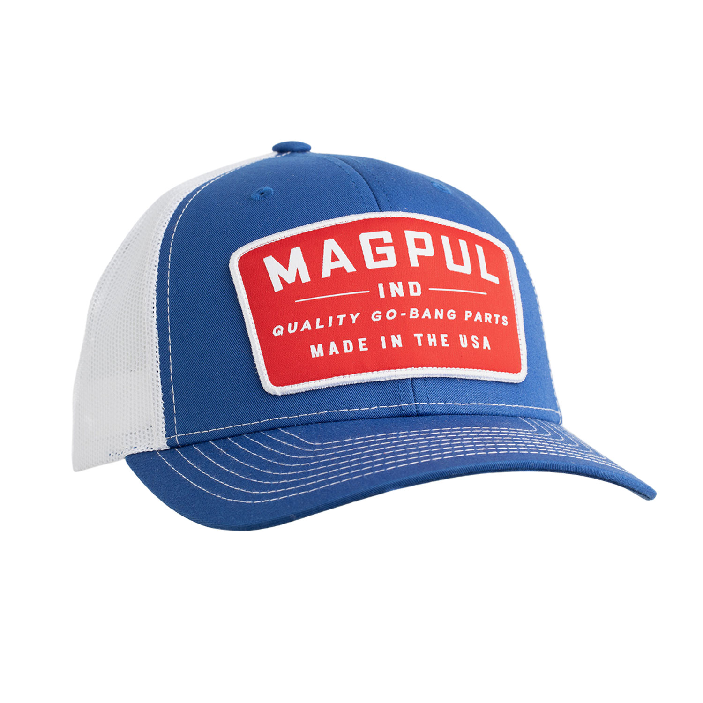Magpul MAG1102-423 Go Bang Trucker Hat Royal Heather/White