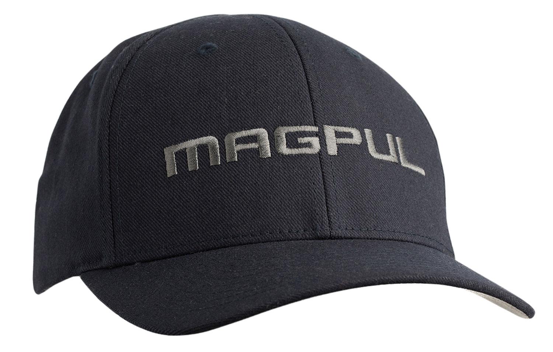 Magpul MAG1103-001 Wordmark  Stretch Hat S/M Black