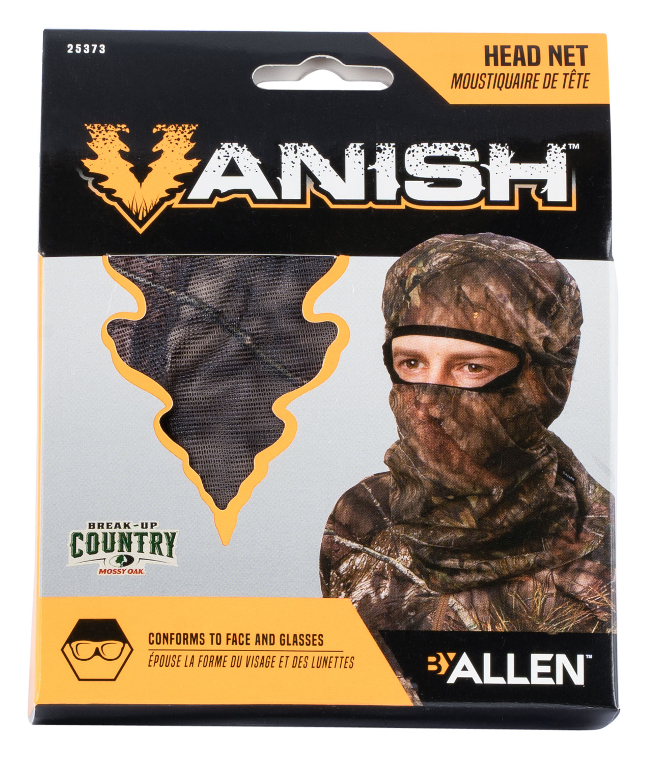 VISA FORM HEAD NET  MOSSY OAK COUNTRY