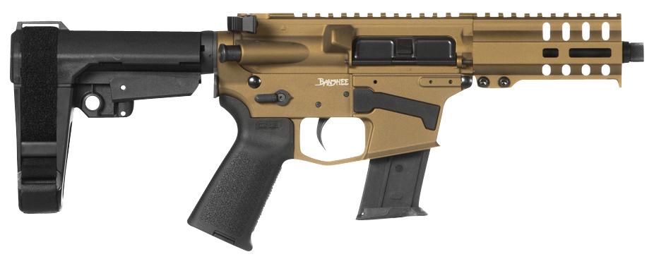 CMMG 57A1843-FDE Banshee 300 MK57 5.7x28mm 5