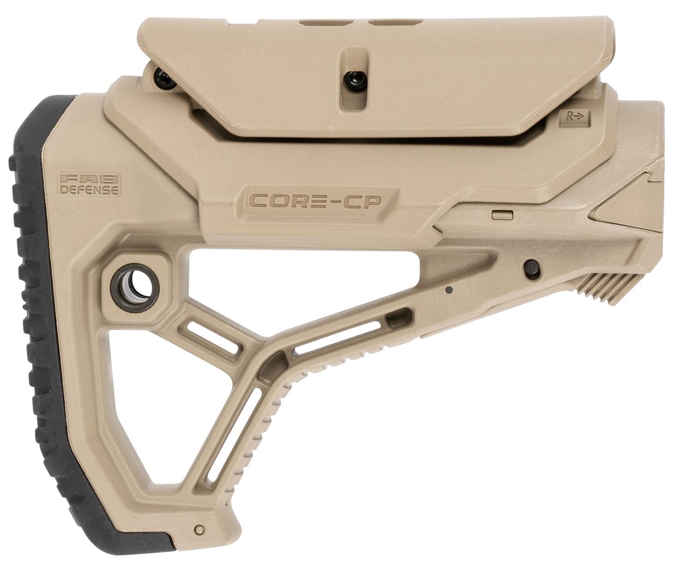 FAB FX-GLCORECPT  GLCORE CP AR15 M4 STOCK FDE