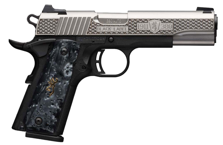 Browning 051965492 1911-380 High Grade Compact 380 ACP 3.63