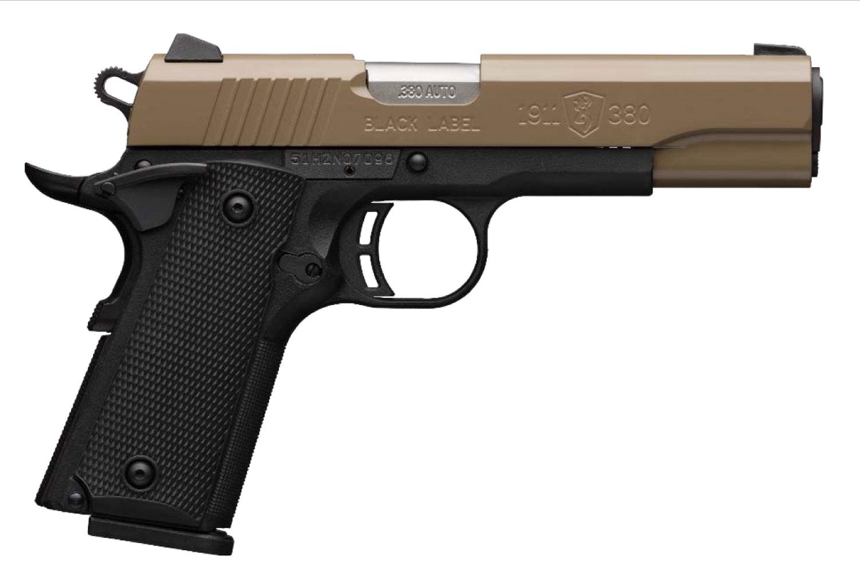 Browning 051960492 1911-380 Compact 380 ACP 4.25