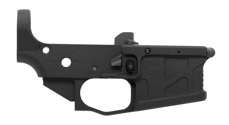 American Defense Mfg UICCLOWERBLK UIC Stripped Lower Multi-Caliber 7075-T6 Aluminum Black Anodized for AR-Platform