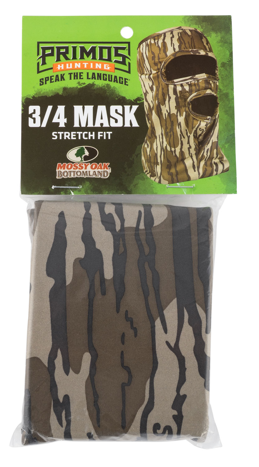 PRIMOS 3/4 FACE MASK STRETCH FIT MO BOTTOMLAND