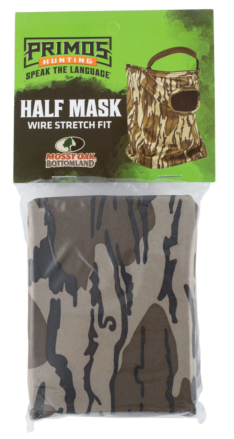 PRIMOS 1/2 FACE MASK STRETCH FIT MO BOTTOMLAND