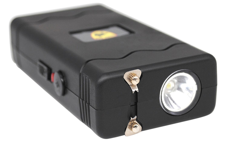 GUARD DOG DISABLER STUN GUN W/ LED LIGHT RECHARGEABLE BLK