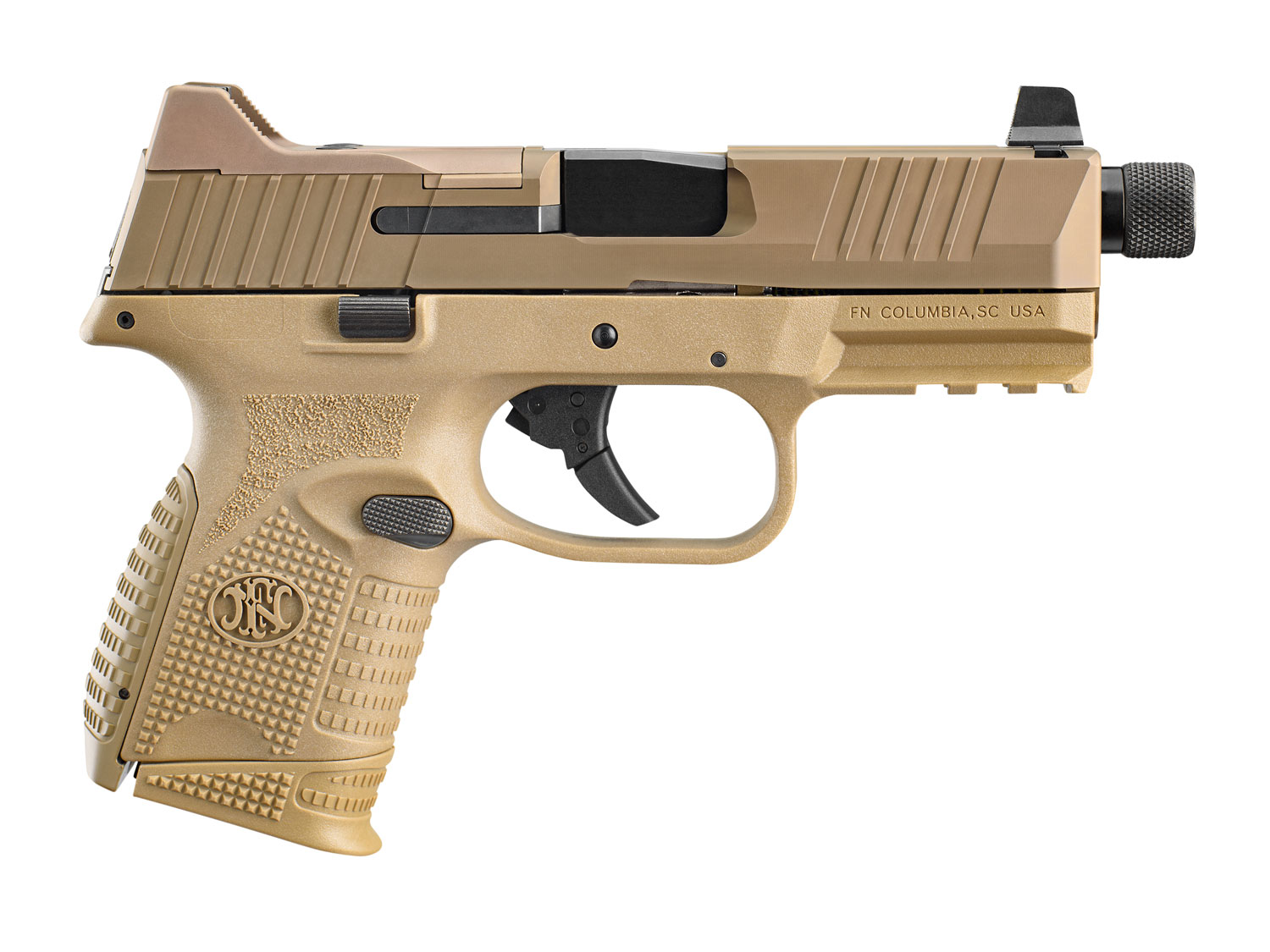 FN 66100781 509 Compact Tactical 9mm Luger 4.32