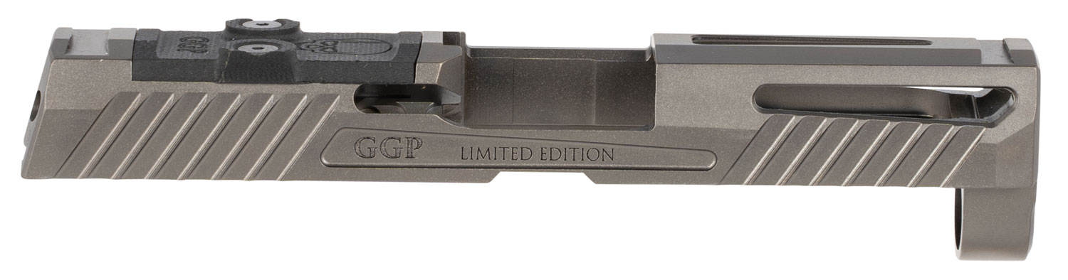GREY GHOST PRECISION GGP320CGRY1 GGP320 Compact Version 1 Sig P320 Gray DLC 416 Stainless Steel