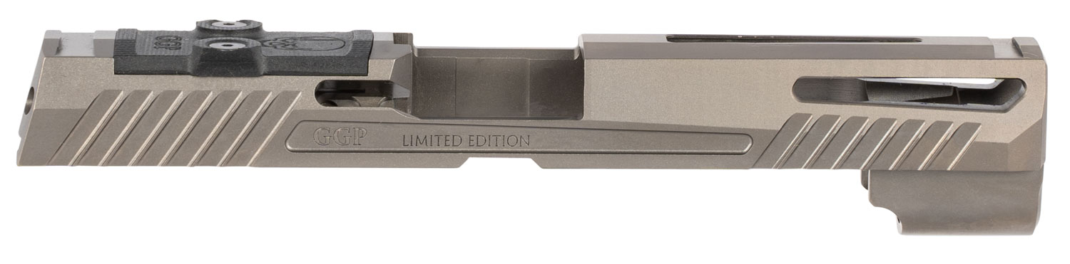 GREY GHOST PRECISION GGP320FGRY1 GGP320 Full Size Version 1 Sig P320 Gray DLC 416 Stainless Steel