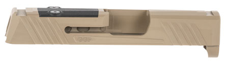 GREY GHOST PRECISION GGP365FDE1 GGP365 Version 1 Sig P365 Flat Dark Earth Cerakote 17-4 Stainless Steel