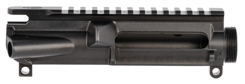 Grey Ghost Precision GGPCUR Forged Upper Receiver  7075-T6 Aluminum Black Anodized Receiver for AR-Platform