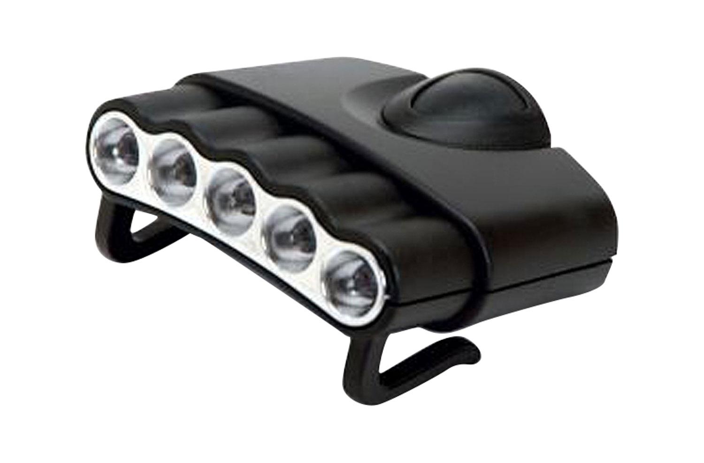 CYCLP CYC-HC5-W      5 LED WHITE HAT CLIP LIGHT