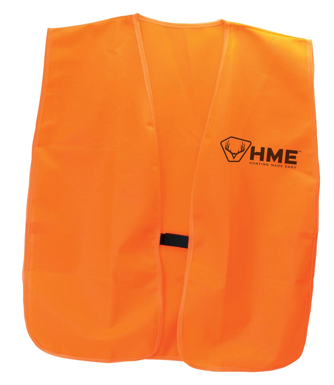 HME Orange Vest  <br>  Big & Tall