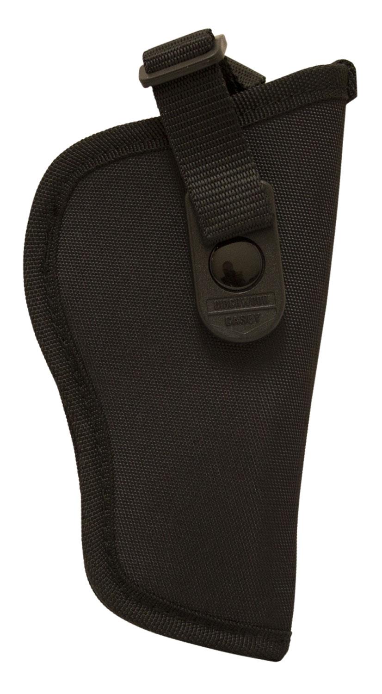 Birchwood Casey NH00 Nylon Holster  Black Belt Ambidextrous Hand