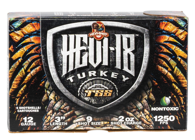 HEVI-Shot 4009 Hevi-18 Turkey TSS 12 Gauge 3