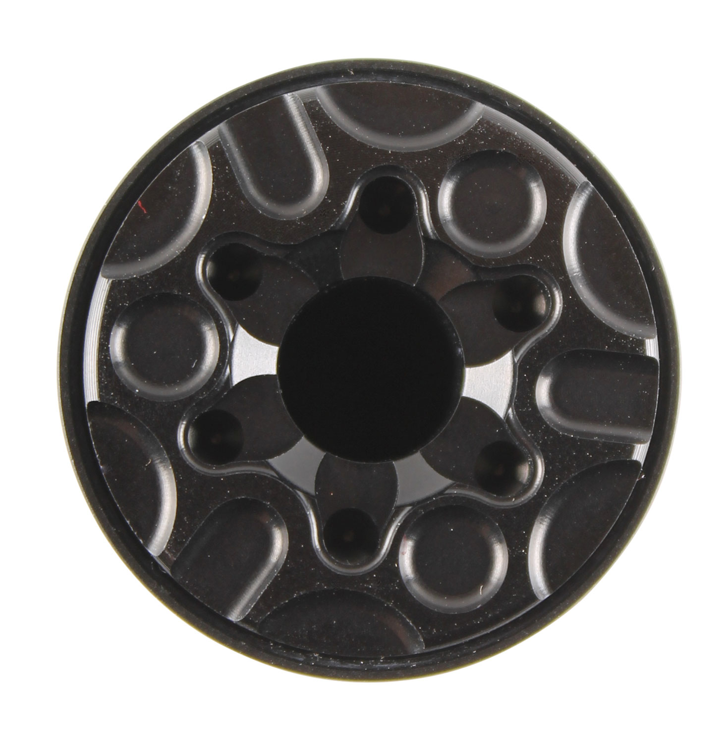 CGS SUPPRESSORS CGS-MOD9-REAR-CAP MOD9 Rear Cap  9mm Luger Black Anodized