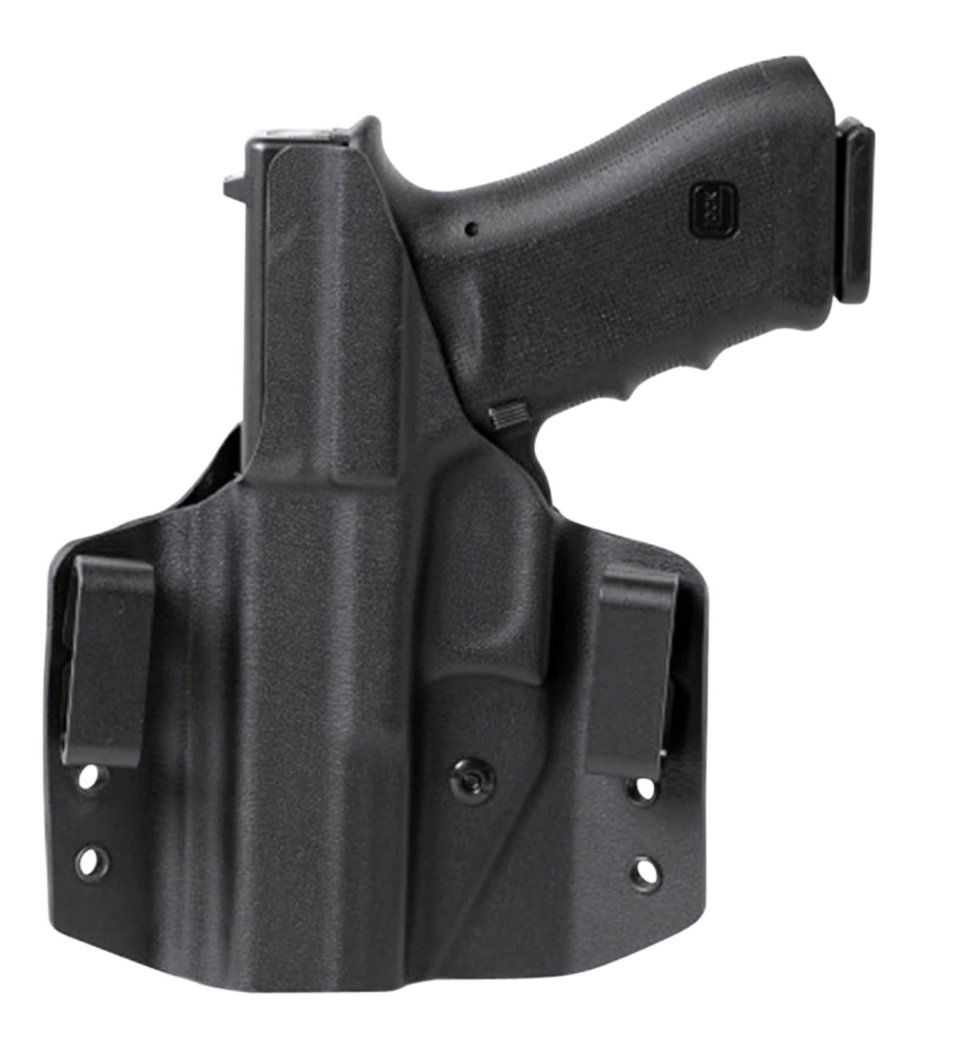 Uncle Mikes 54CCW03BGL CCW  Black OWB 1911 4