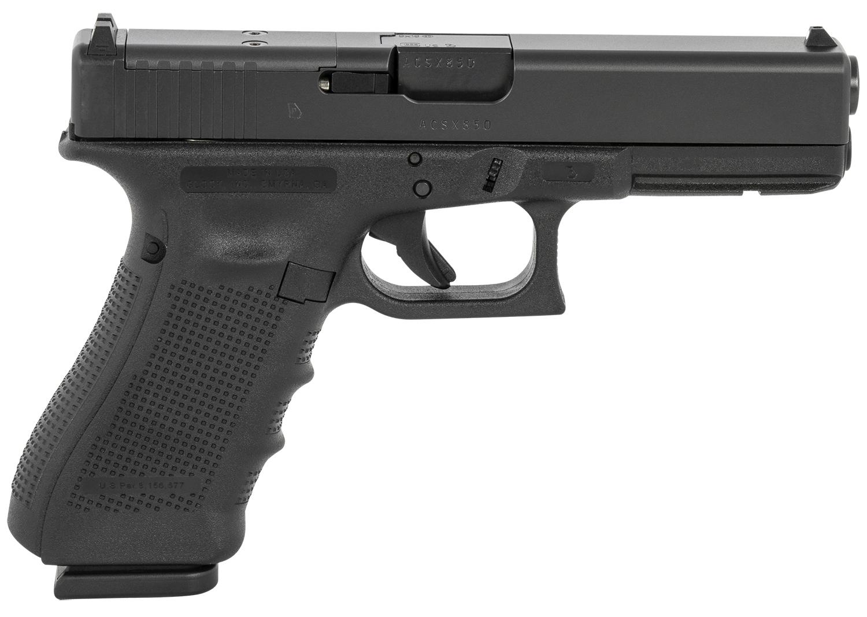 Glock PG1750203MOS G17 Gen4 MOS 9mm Luger 4.49