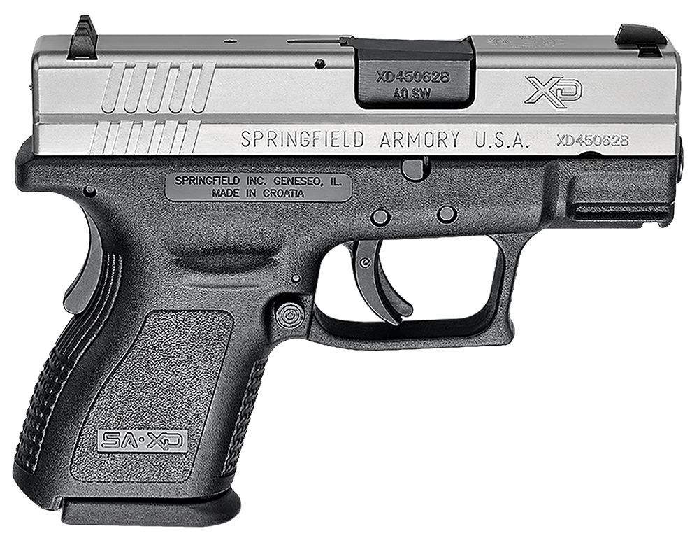 XD SUB-COMPACT 40SW BT 9+1 - XD ESSENTIALS PACKAGE   CA