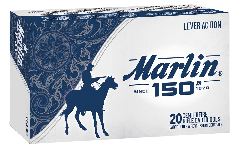 Marlin Ammunition 21257 150th Anniversary  22 LR 36 gr Hollow Point (HP) 225 Bx/ 10 Cs