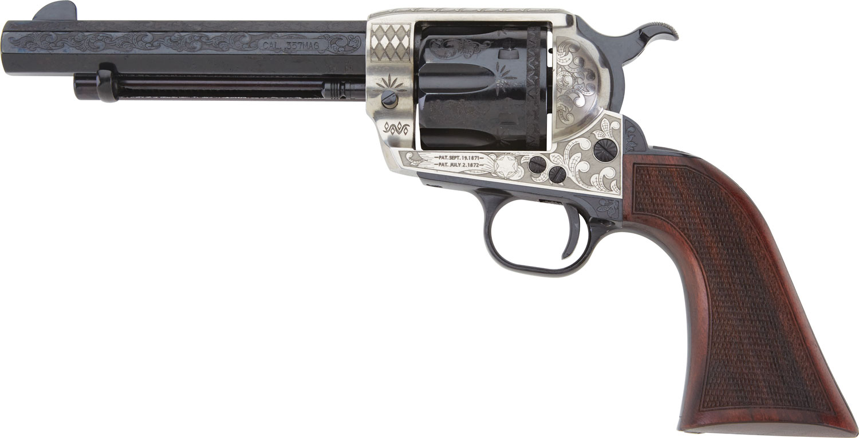 Pietta GW45ALO512NMCW 1873 GW2 Deluxe Alchimista III 45 Colt (LC) 6rd 5.50