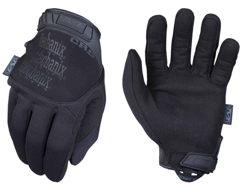Mechanix Wear TSCR-55-010 Pursuit D5 Covert Black Synthetic Leather Large