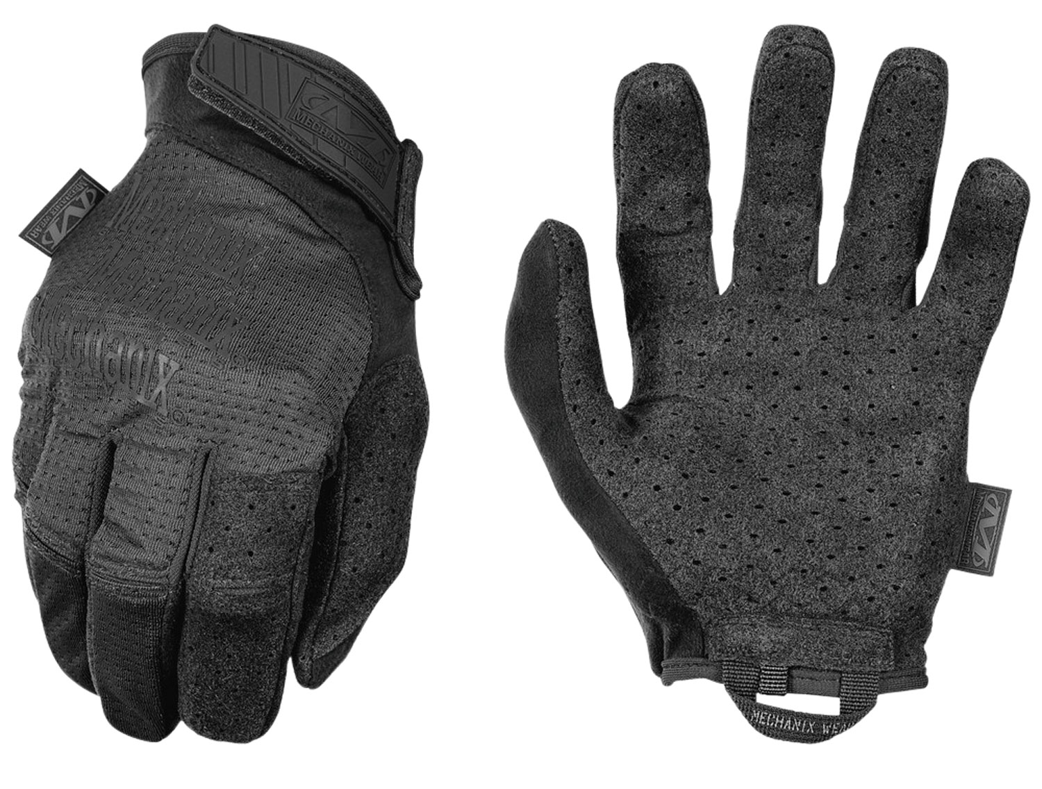 MECHANIX WEAR MSV-55-011 Specialty Vent Covert XL Black AX-Suede Touchscreen