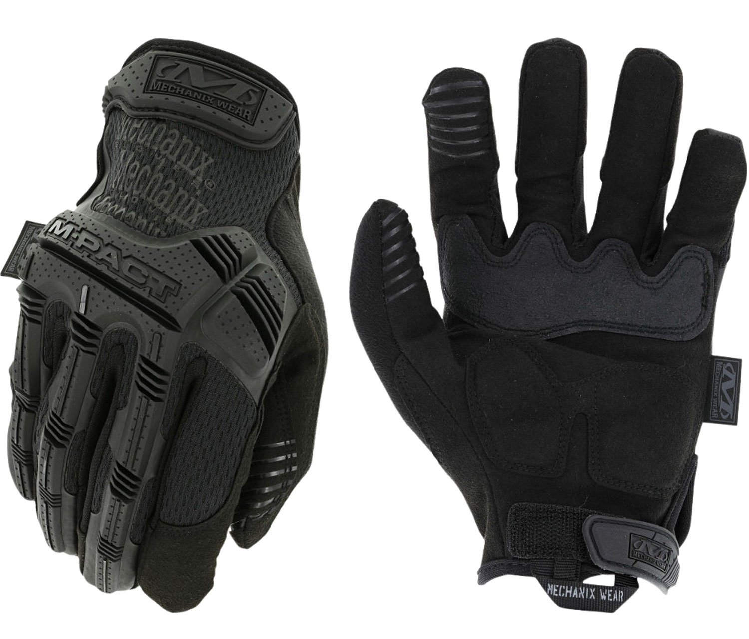 MECHANIX WEAR MPT-55-009 M-Pact Covert Medium Black Synthetic Leather