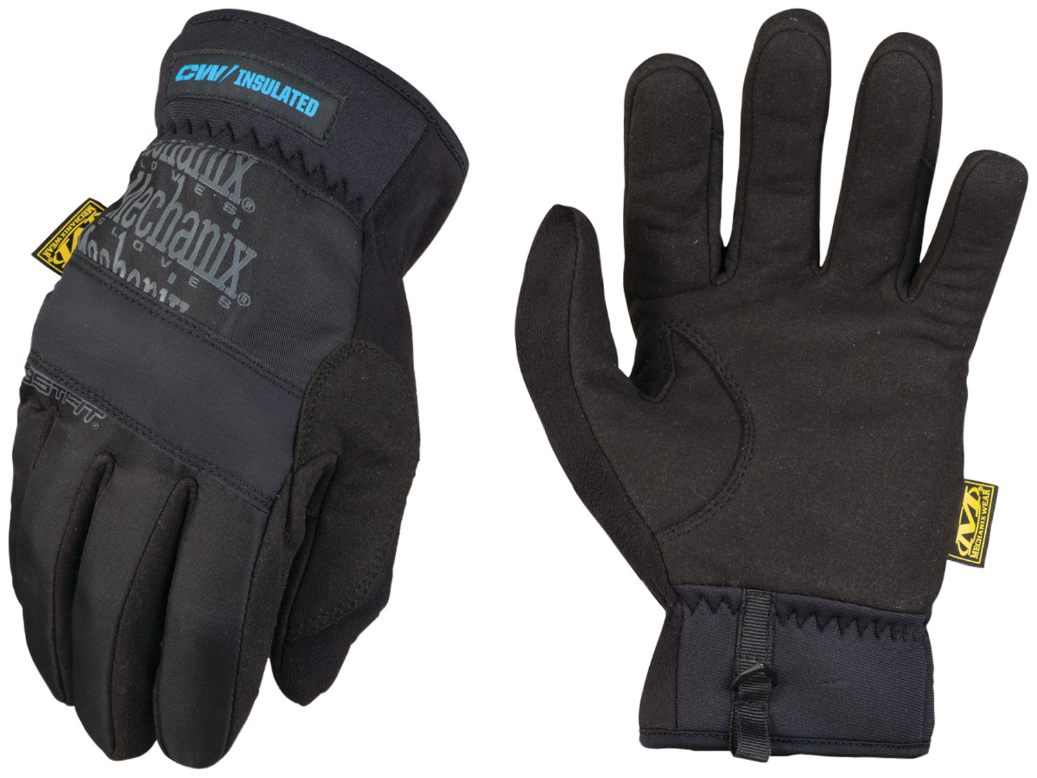 MECHANIX WEAR MFF-95-008 FastFit Insulated Small Black Synthetic Leather Touchscreen