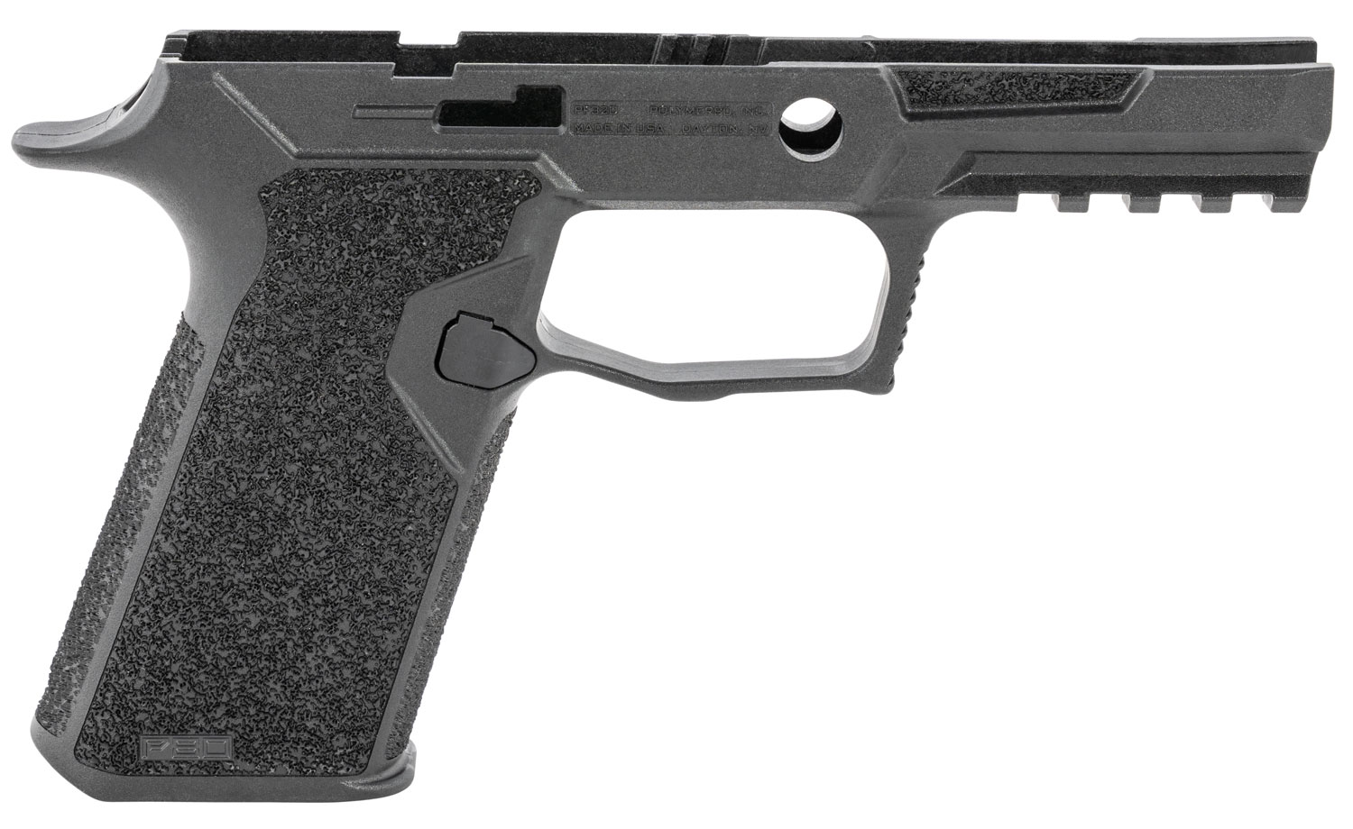 Polymer80 PF320-BLK PF320 Grip Module Kit Sig P320 Full, Carry/230 X5 Full, Carry/230 VTac Polymer Black