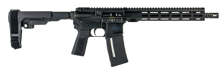 ZION Z-15 PIST 5.56 BLK 12.5 -