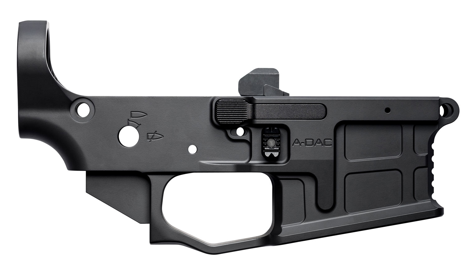 RADIAN WEAPONS R0166 AX556  AR-15 Lower Receiver Radian Black