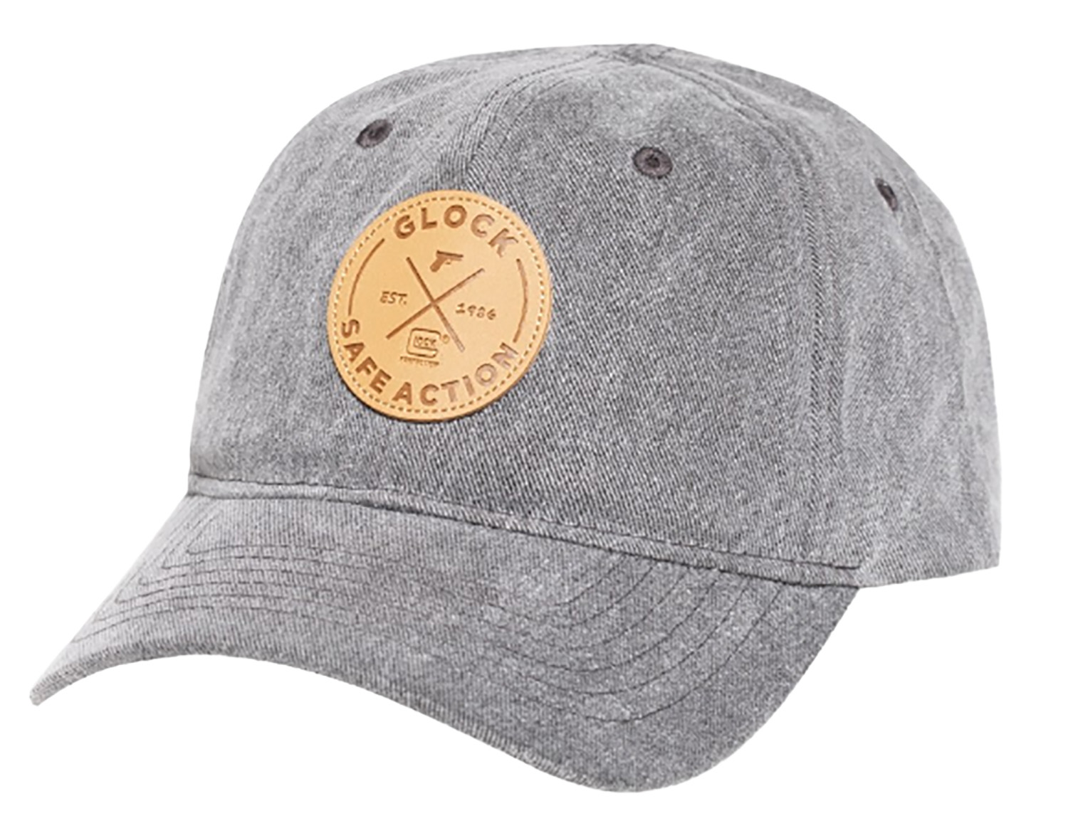 Glock AP95882 Safe Action  Leather Patch Hat