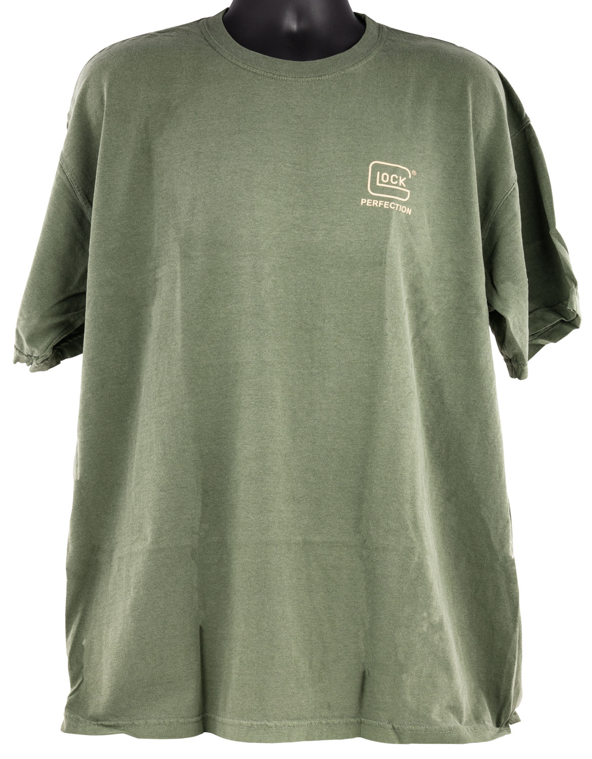 Glock AA75153 Perfection  Green 2XL Short Sleeve