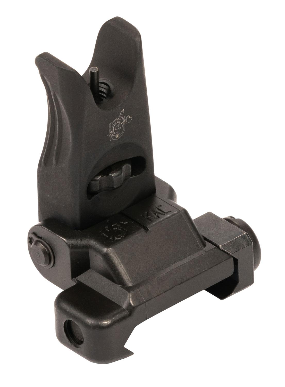 Knights Armament 25654 Micro Front Sight  Folding Black for AR-Platform