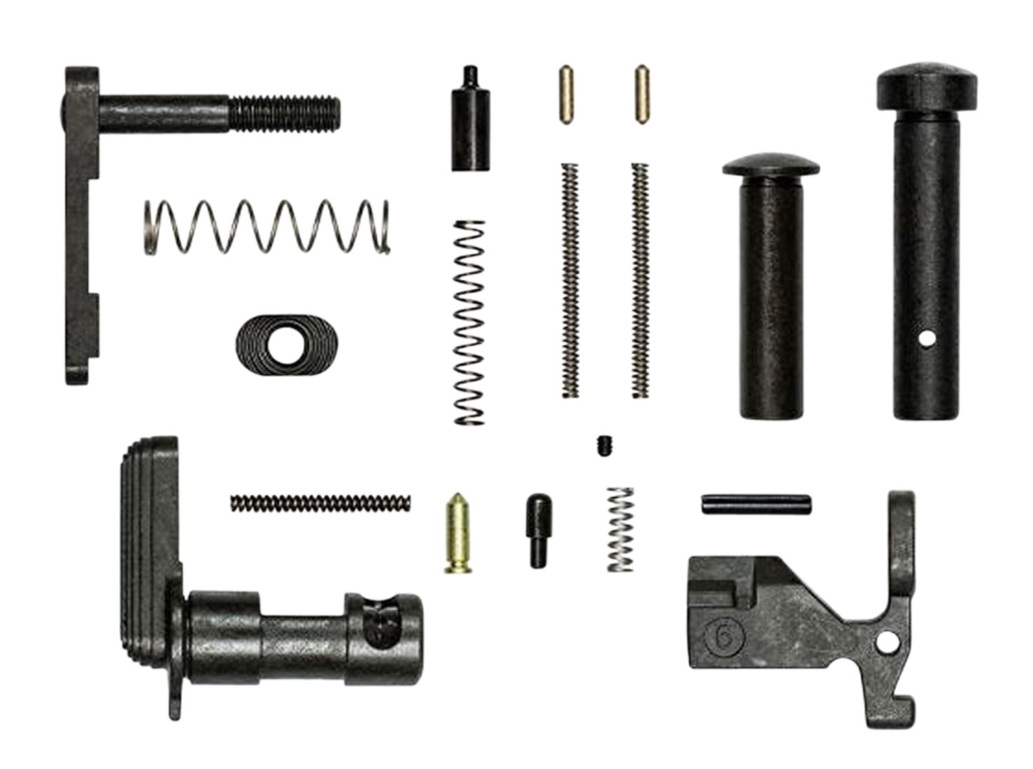 Aero Precision APRH100385C Lower Parts Kit  AR-Platform Does Not Include Fire Control Group, Pistol Grip or Trigger Guard