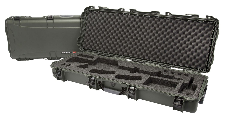 Nanuk 990-AR06 990 AR15 Case with Foam Olive Polyethylene