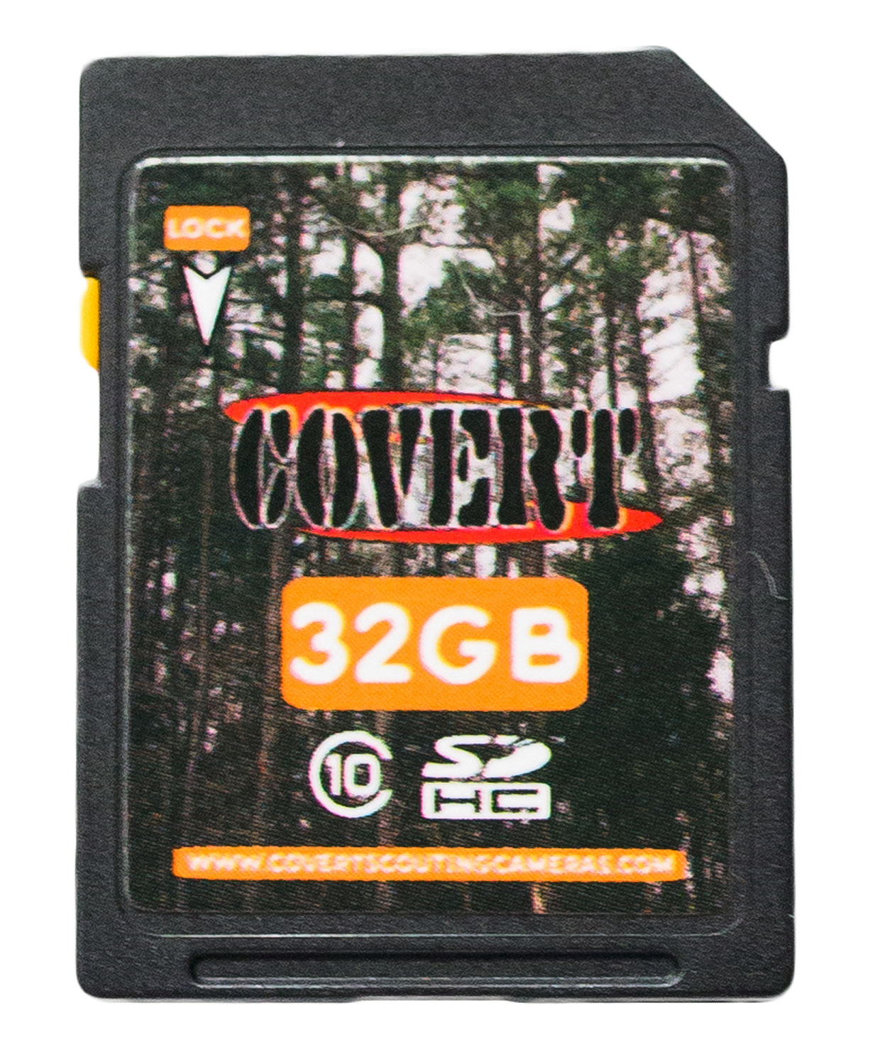 Covert SD Memory Card  <br>  32 GB